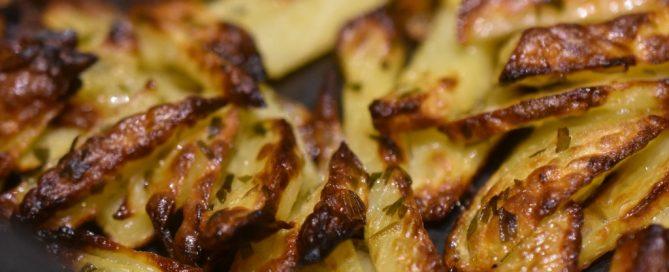 Pommes frites med hvidvinseddike og estragon - SÅ lækre!