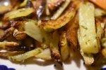 Pommes frites – med hvidvinseddike og estragon – SÅ lækre!