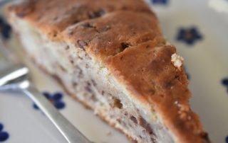 Banankage med chokolade - nem og fedtfattig
