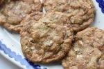 Cookies med lakrids, mandler og hvid chokolade – SÅ lækre
