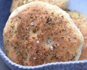 Foccaciabrød - boller til burgere og sandwich
