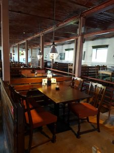 Restaurant Møllegården på Alrø - et formidabelt sted