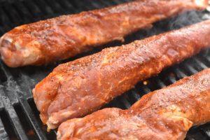 Marineret svinemørbrad på grill - med røget paprika