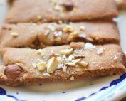 Karamelsnitter - lækre småkager uden æg