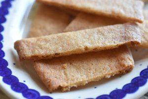 Karamelkager - sprøde og lækre karamelsnitter - nemme at lave