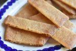 Karamelkager - lækre og sprøde karamelsnitter - nemme at lave
