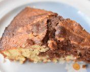Marmorkage opskrift på sandkage med kakao