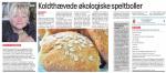 Bagenørden lokal mediedarling – i avisen hver uge. Det er sjovt :-)