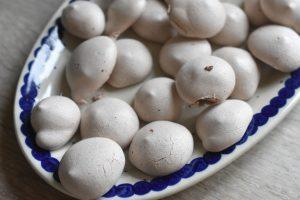 Marengs med kakao - små, nemme og fedtfattige kyskager