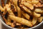 Pommes frites af selleri – rodfrugt fritter stegt i ovn