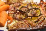 Pizza – nem, sprød og lækker. Med rugmel, løg og bacon