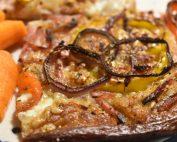 Pizza med rugmel - nem opskrift med bacon