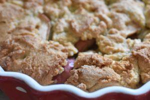 Æblekage med mandellåg - nem, sprød og lækker