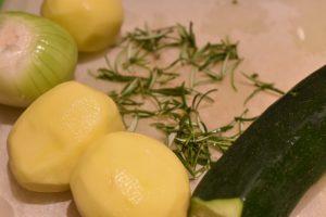 Squash frikadeller - sunde vegetar frikadeller