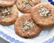 Jødekager - opskrift på sprøde julesmåkager