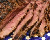 Flanksteak opskrift på pande, i ovn eller på grill