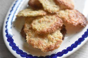 Sprøde småkager med vanilje og mandler - nemme mandelsmåkager