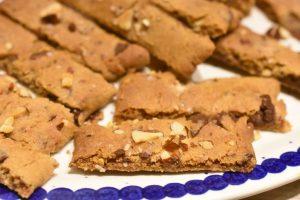 Karamelkager med mandler og chokolade - lækre og nemme at lave