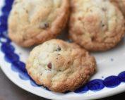 Cookies med hasselnødder & vanilje - opskrift