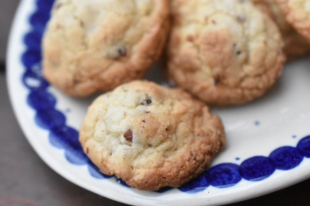Cookies med hasselnødder og vanilje - nemme og lækre