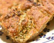 Hvidløgsbrød med rugmel - groft hvidløgsbrød