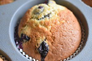 Muffins med blåbær og vanilje - nemme og SÅ lækre