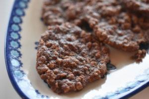 Havregrynssmåkager med chokolade - nem opskrift