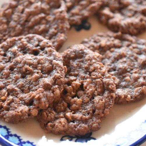 Havregrynssmåkager med chokolade – nem opskrift