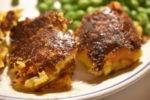 Kartoffelfrikadeller med gulerødder og cheddar - SÅ lækre