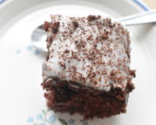 Chokoladekage med kaffe - nem kage opskrift