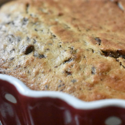 Banankage – nem opskrift på klassisk banankage med chokolade