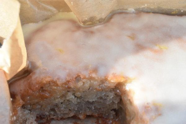 Kage med appelsin og appelsinglasur - nem og fedtfattig