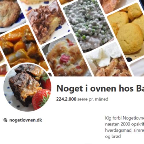 Følg Bagenørden på Pinterest - gem opskrifter og få overblik