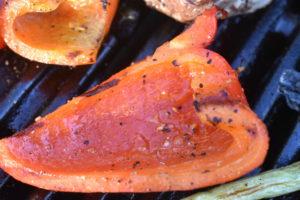 Grillet peberfrugt - nemt og lækkert
