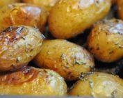 Kartofler i ovn - ovnkartofler med timian