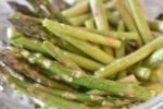 Grønne asparges i mikroovn - nem opskrift