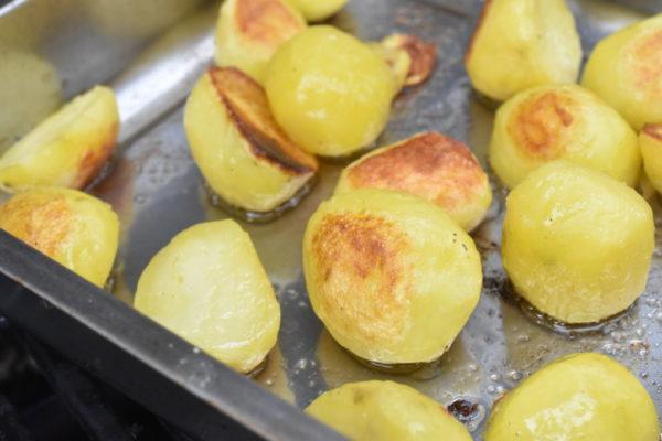 Kartofler på grill - sprøde - nem opskrift