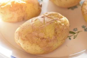 Bagekartofler - bagte kartofler i mikroovn