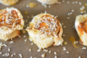 Butterdejssnegle med pesto - lækre pestosnegle