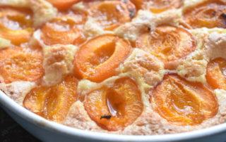 Abrikostærte - nem kage med friske abrikoser