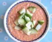 Gazpacho - kold tomatsuppe - nem opskrift