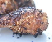 Kylling med sesam & paprika i ovn eller grill