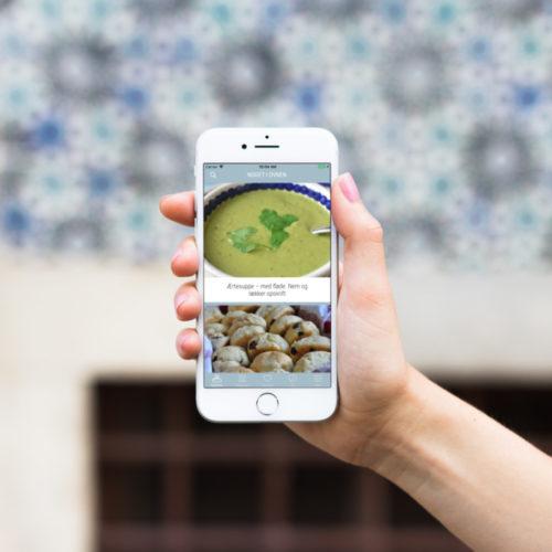 Noget i ovnen app - nu med over 1000 opskrifter!