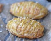 Hasselback kartofler opskrift - sprøde og ovnstegte
