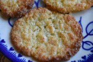 Kokos småkager - nem opskrift på kokossmåkager