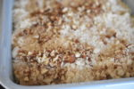 Rabarbercrumble - opskrift på nem & lækker crumble