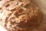 Franskbrød - opskrift med rugmel og havregryn