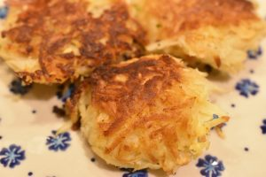 Pastinak røsti - vegetar frikadeller opskrift