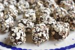 Havregrynskugler opskrift med Nutella og kaffe