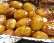 Brunede kartofler i ovn med farin nem opskrift